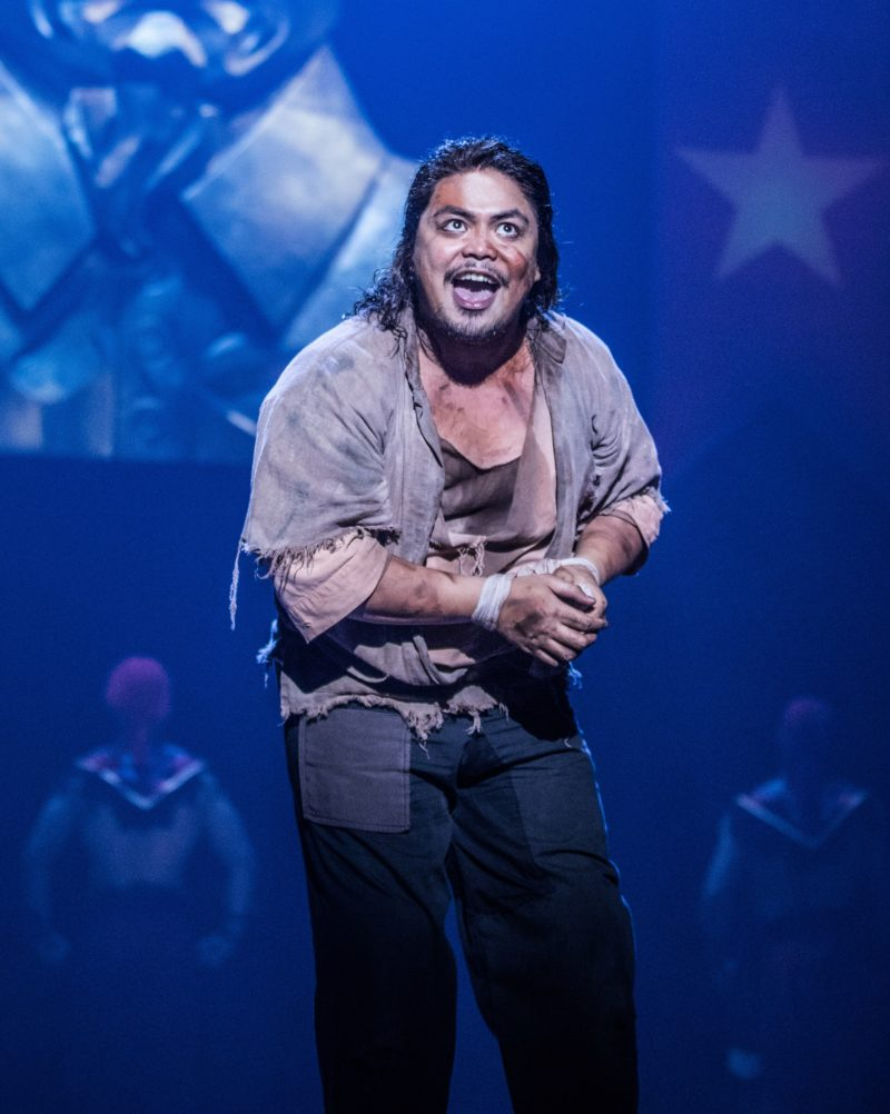 Red Concepción as 'The Engineer' in the North American Tour of MISS SAIGON