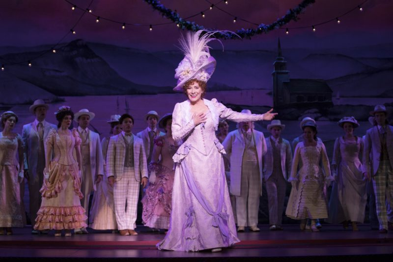 Betty Buckley takes her final bow at the end of the performance.