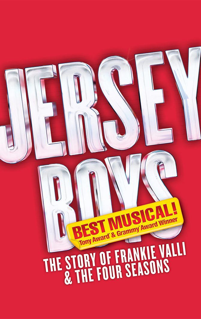 Jersey Boys Keyart