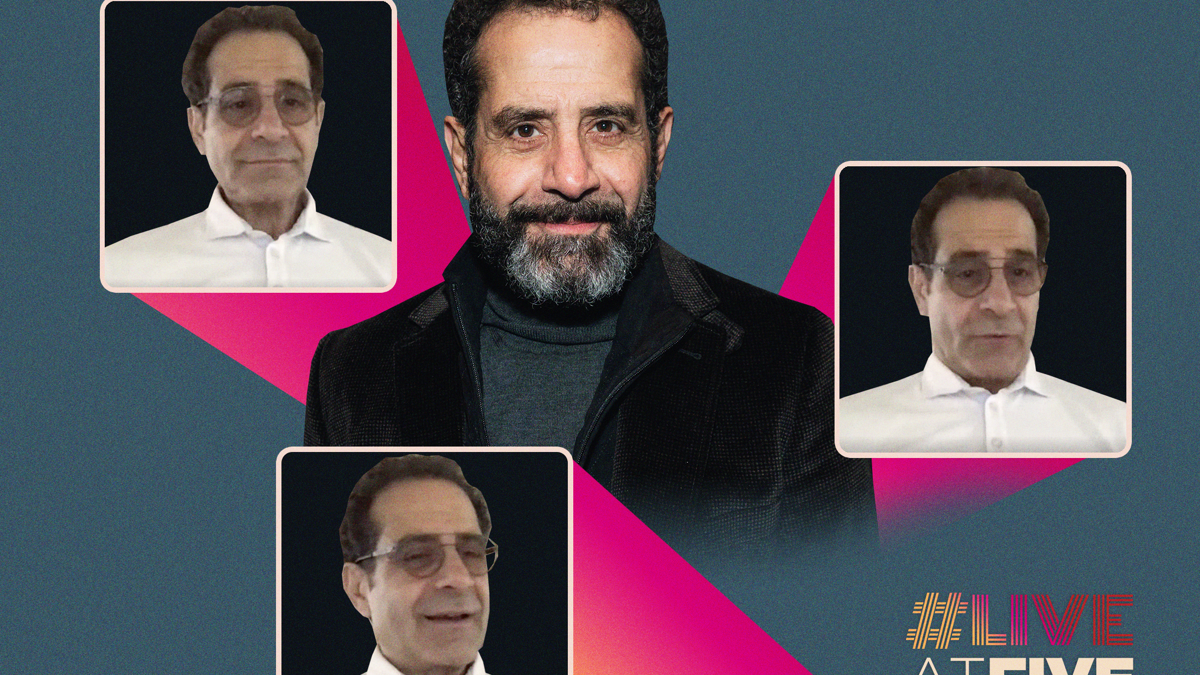 Live at Five Home Edition - Tony Shalhoub - 6/20