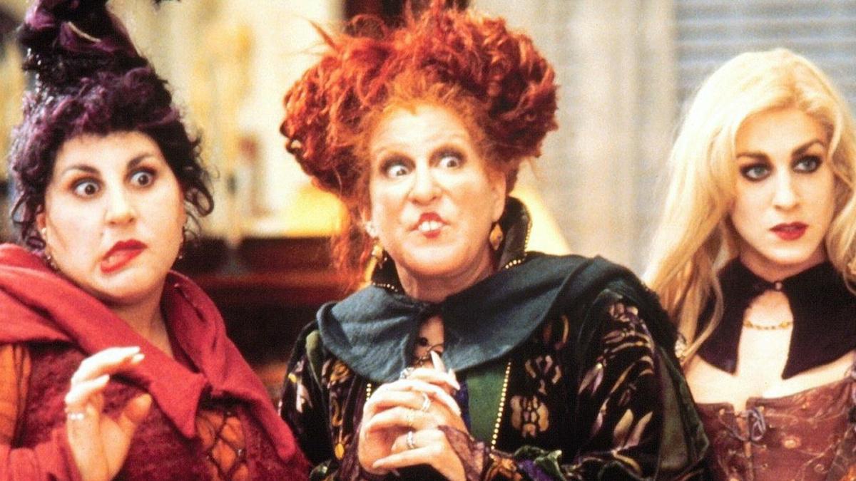 Hocus Pocus - Kathy Najimy - Bette Midler - Sarah Jessica Parker - Walt Disney Pictures - 1993